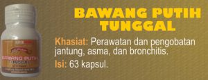 bawang tunggal herbal jantung alami