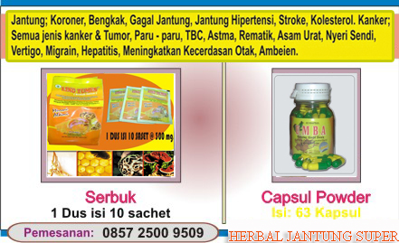 Obat Herbal Jantung Bengkak Jantung Koroner dan Gagal Jantung