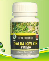 kapsul herbal tanaman daun kelor