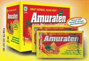 obat asam urat amuraten penyebab gejala serta